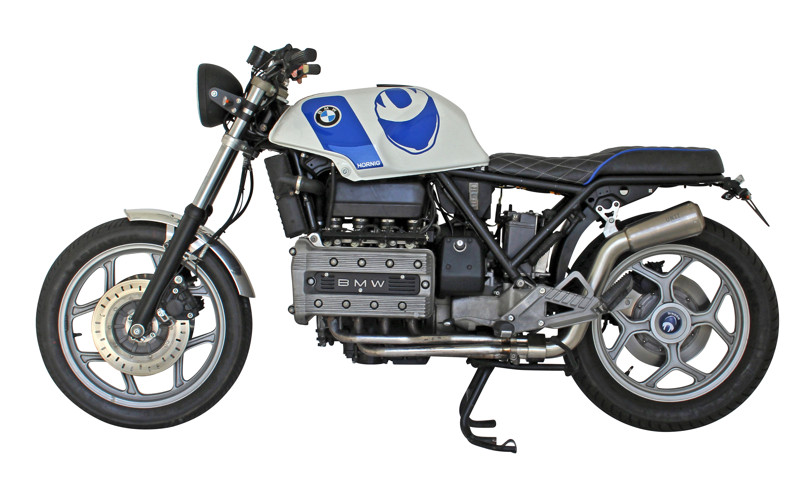 Bmw K100rs Cafe Racer By Hornig Trendy Retro Look With Tuv Approval Motorcycle Accessory Hornig Parts For Your Bmw Motorrad