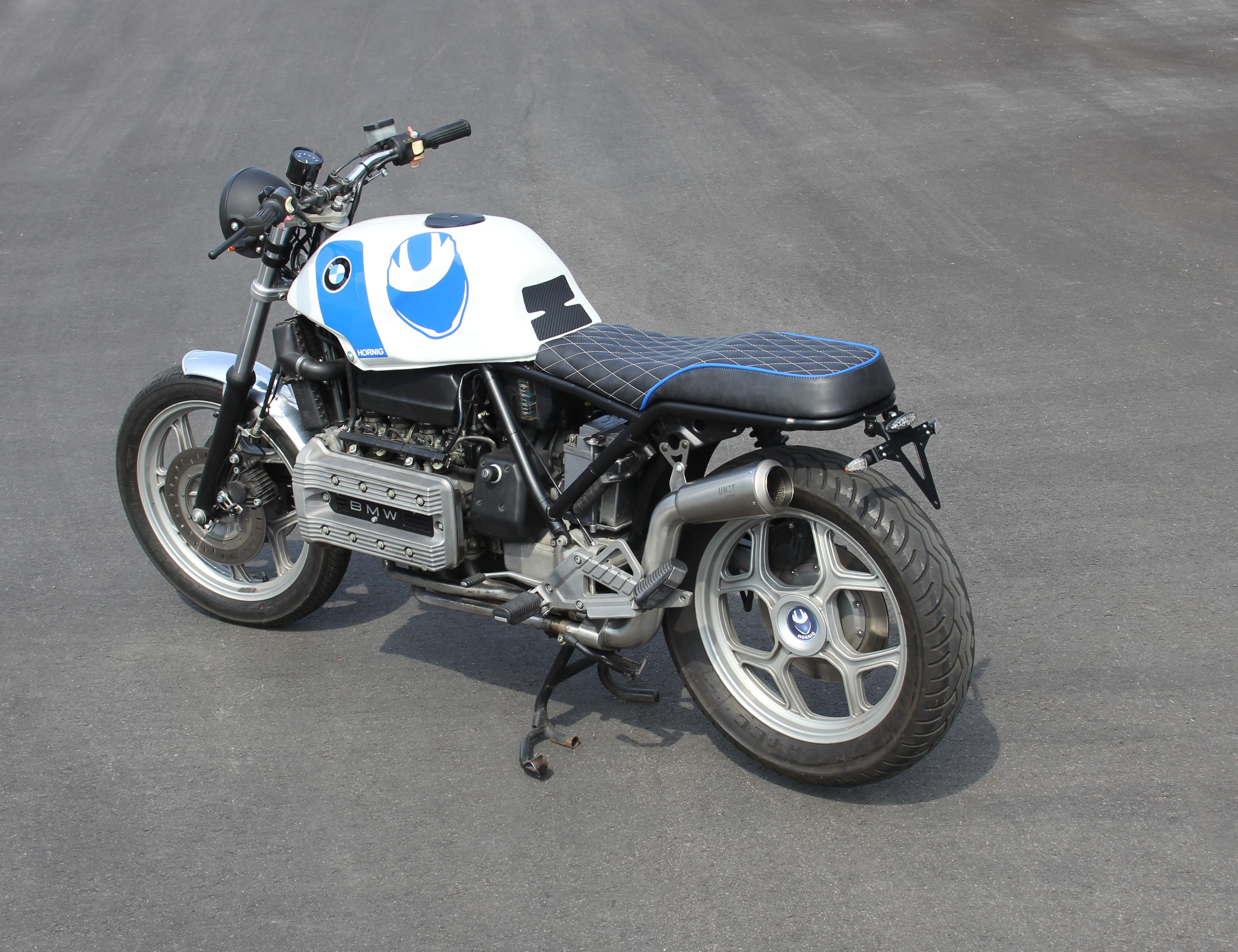 Bmw K100rs Café Racer By Hornig Trendy Retro Look With Tüv Approval