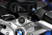 Holder for on-board socket for BMW R1200R LC, R1250R, R1200RS & R1250RS