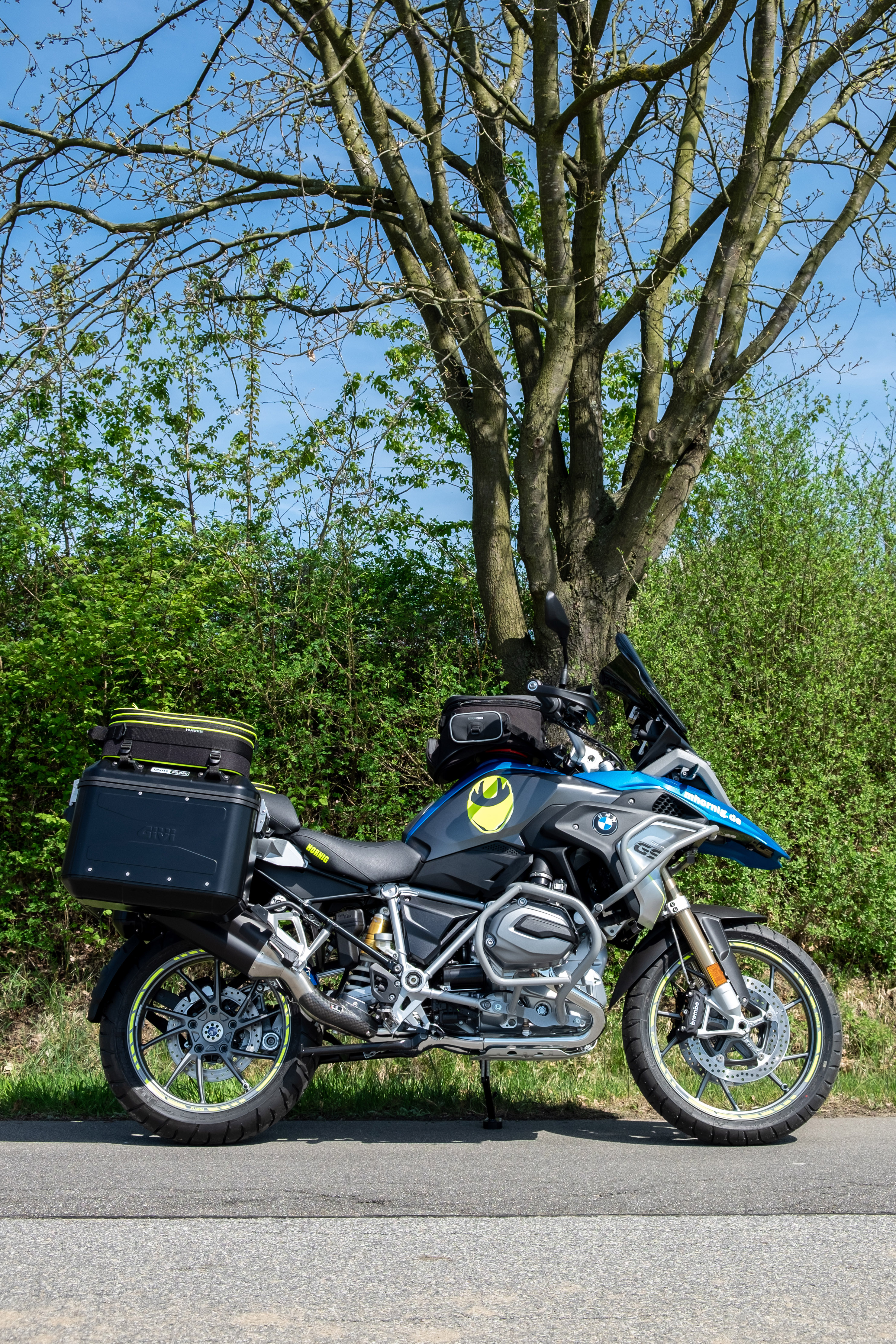 Bmw R1200gs Adventure Triple Black 2017 Review: BMW R1200GS 2018 Conversion By Hornig With More Comfort