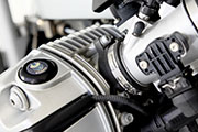 BMW R1200R Scrambler conversion by Hornig