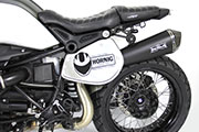 BMW RnineT conversion by Hornig