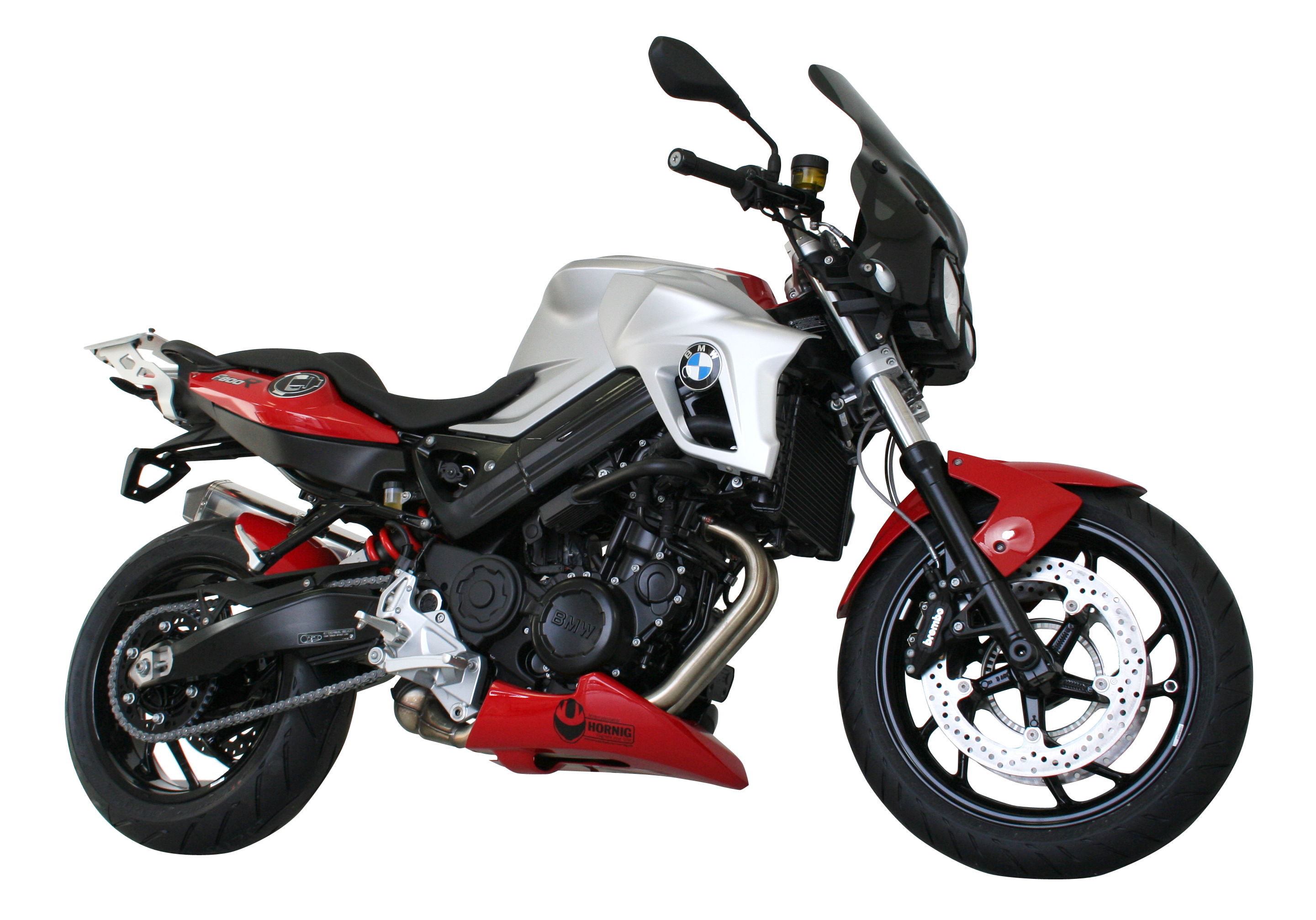 hornig bmw f800r customization from naked bike to tourer. Black Bedroom Furniture Sets. Home Design Ideas