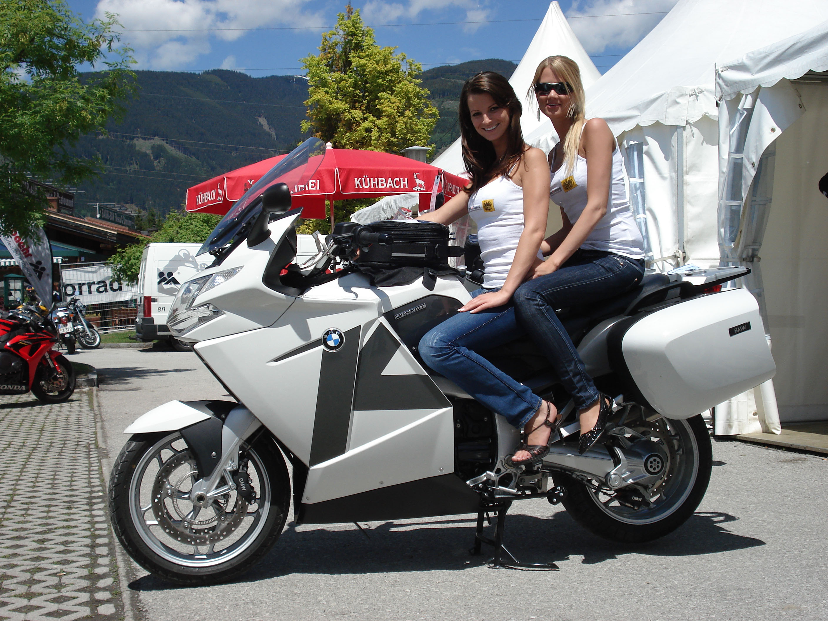Bmw K1200gt Conversion Perfect Touring Motorcycle Accessory Hornig