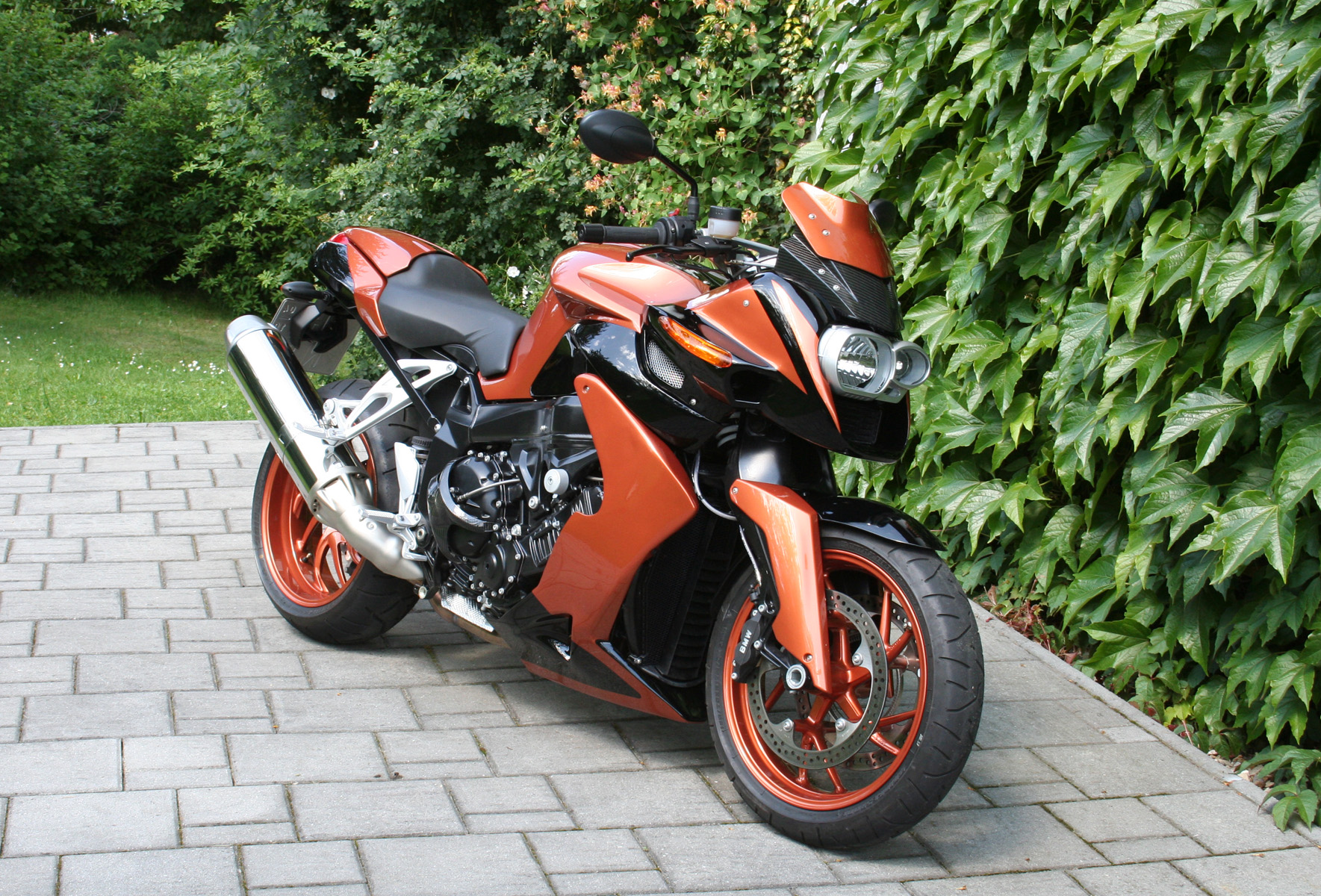 Bmw K1200r Conversion Pr Agressive Front And Much More