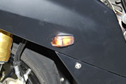 BMW S1000RR LED fairing indicators