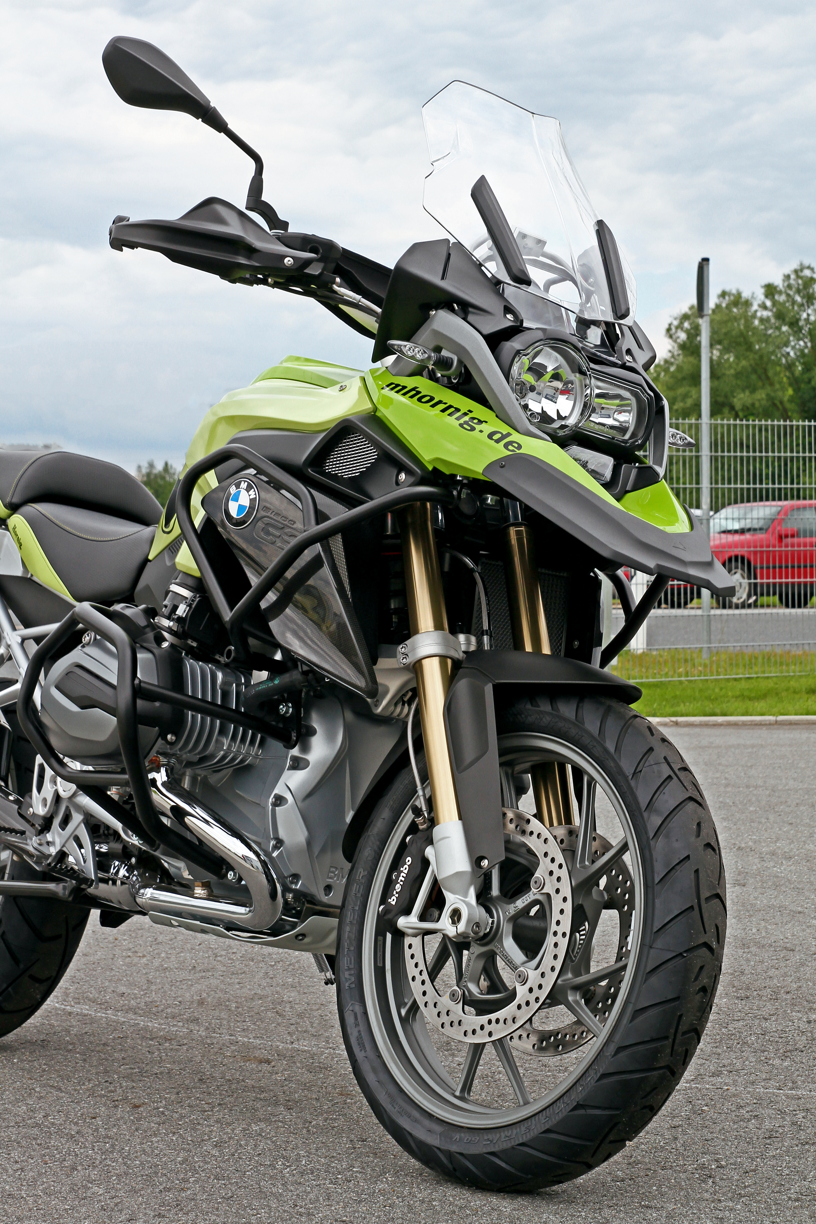 Bmw R1200gs Lc Conversion By Hornig More Protection And More Custom