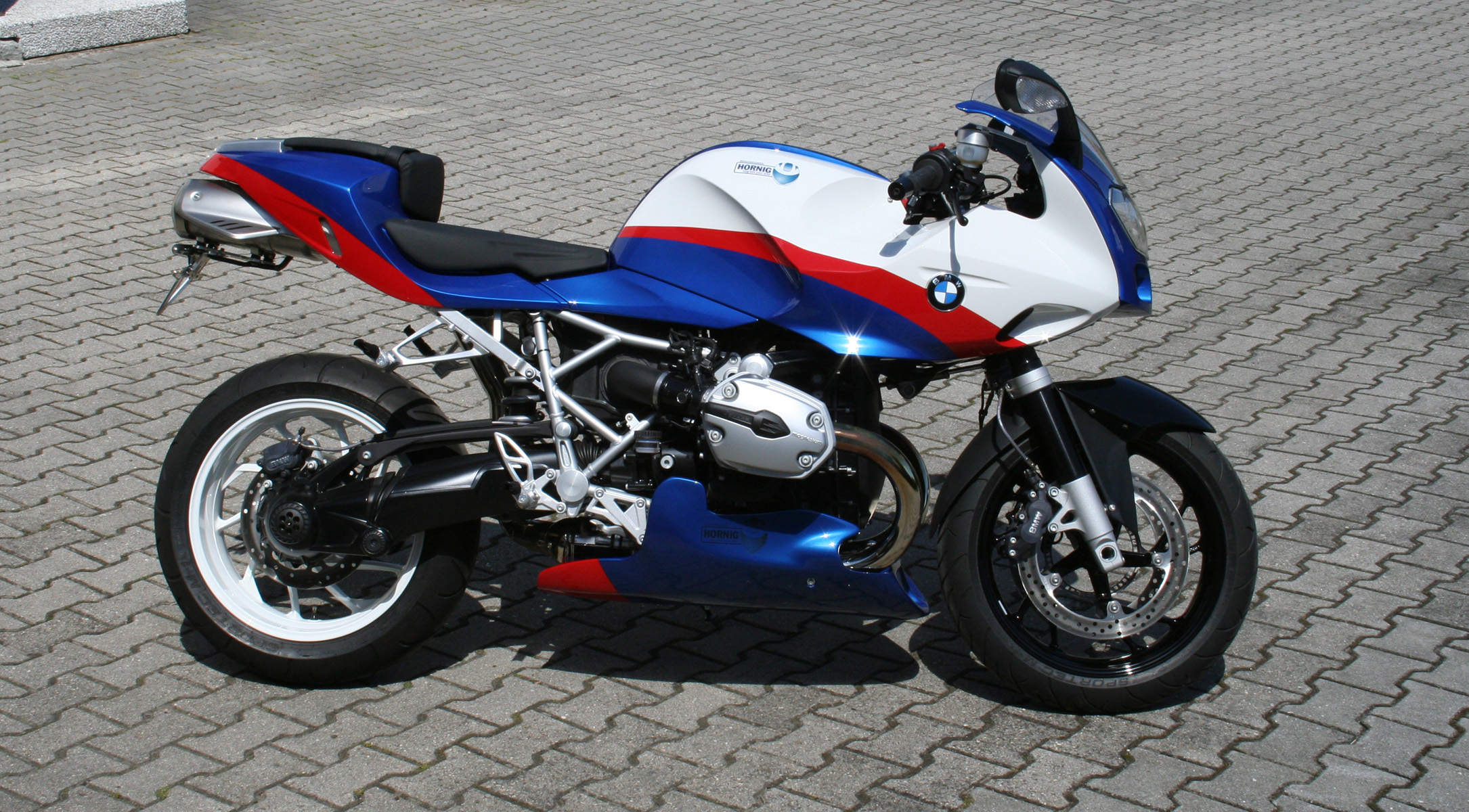 Bmw R1200s Conversion Pr Supersport Maschine In Powercup Colours Motorcycle Accessory Hornig