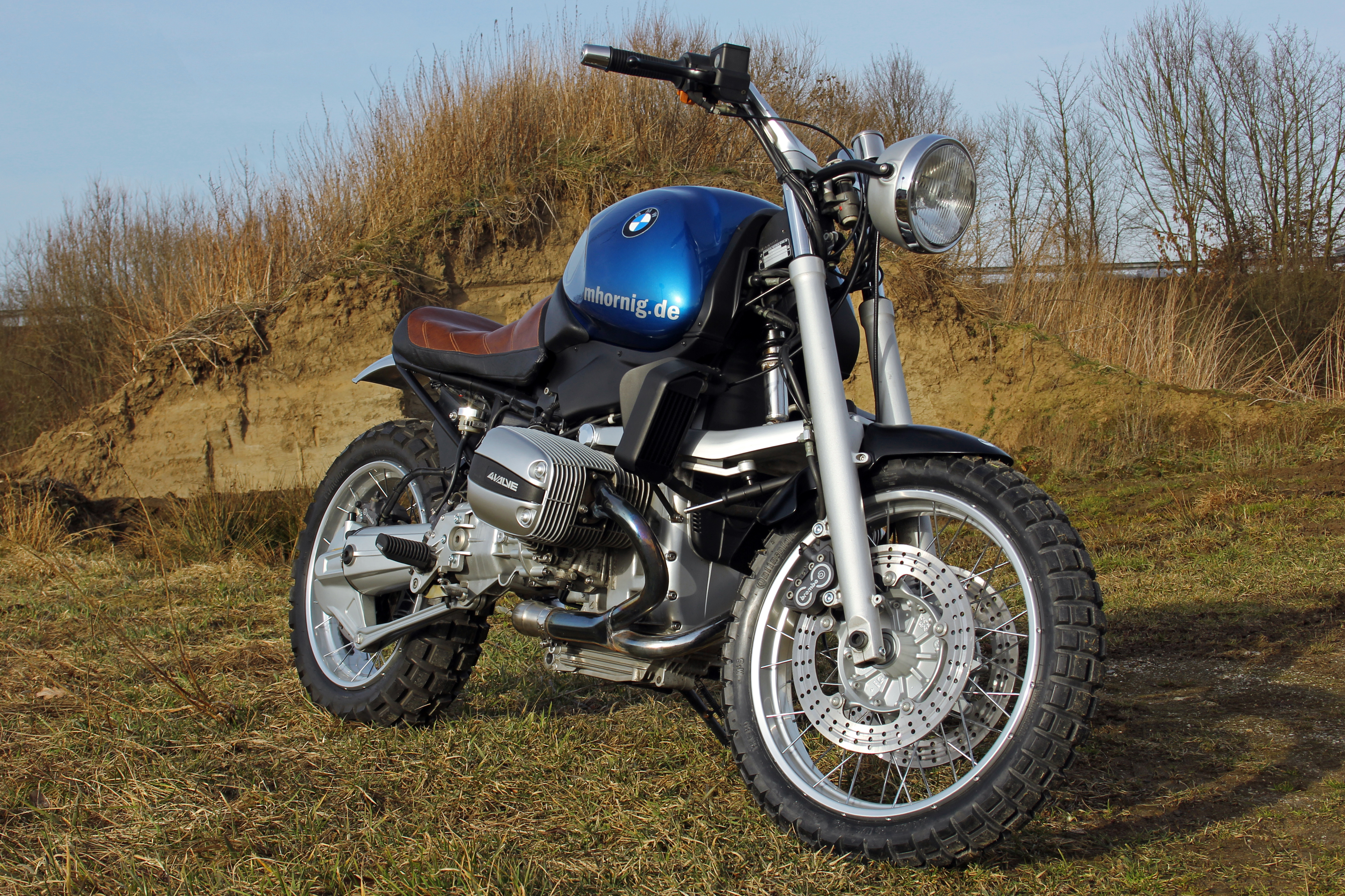 Bmw R1100r Scrambler Conversion Removing As Much As Possible